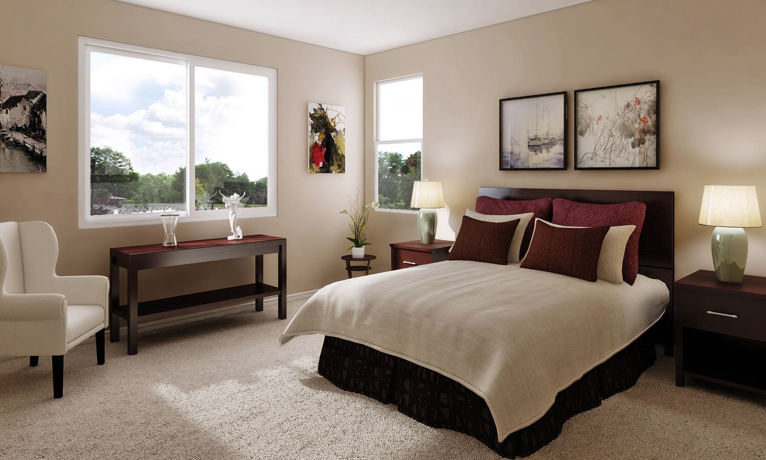 Bedroom featured in The Caledonia By Stonefield Home in Merced, CA