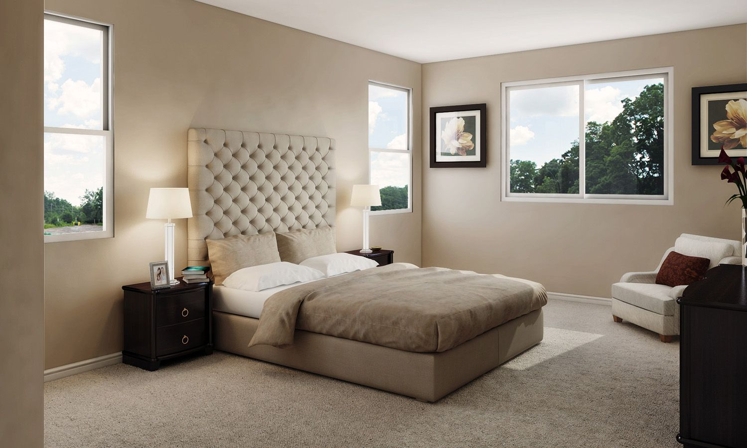 Bedroom featured in The Silva Bella By Stonefield Home in Merced, CA