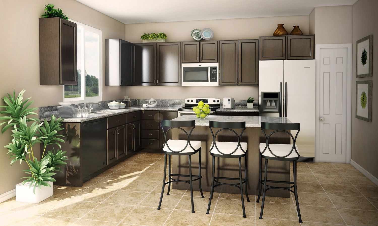 Kitchen featured in The Travertino By Stonefield Home in Merced, CA