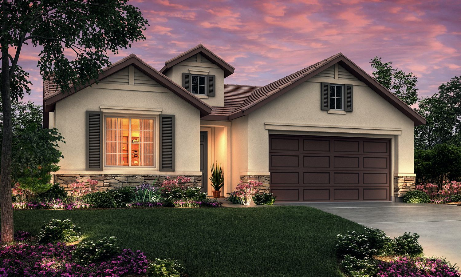 Exterior featured in The Carrera By Stonefield Home in Merced, CA