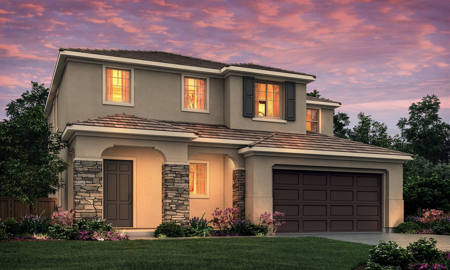 Exterior featured in The Silva Bella By Stonefield Home in Merced, CA
