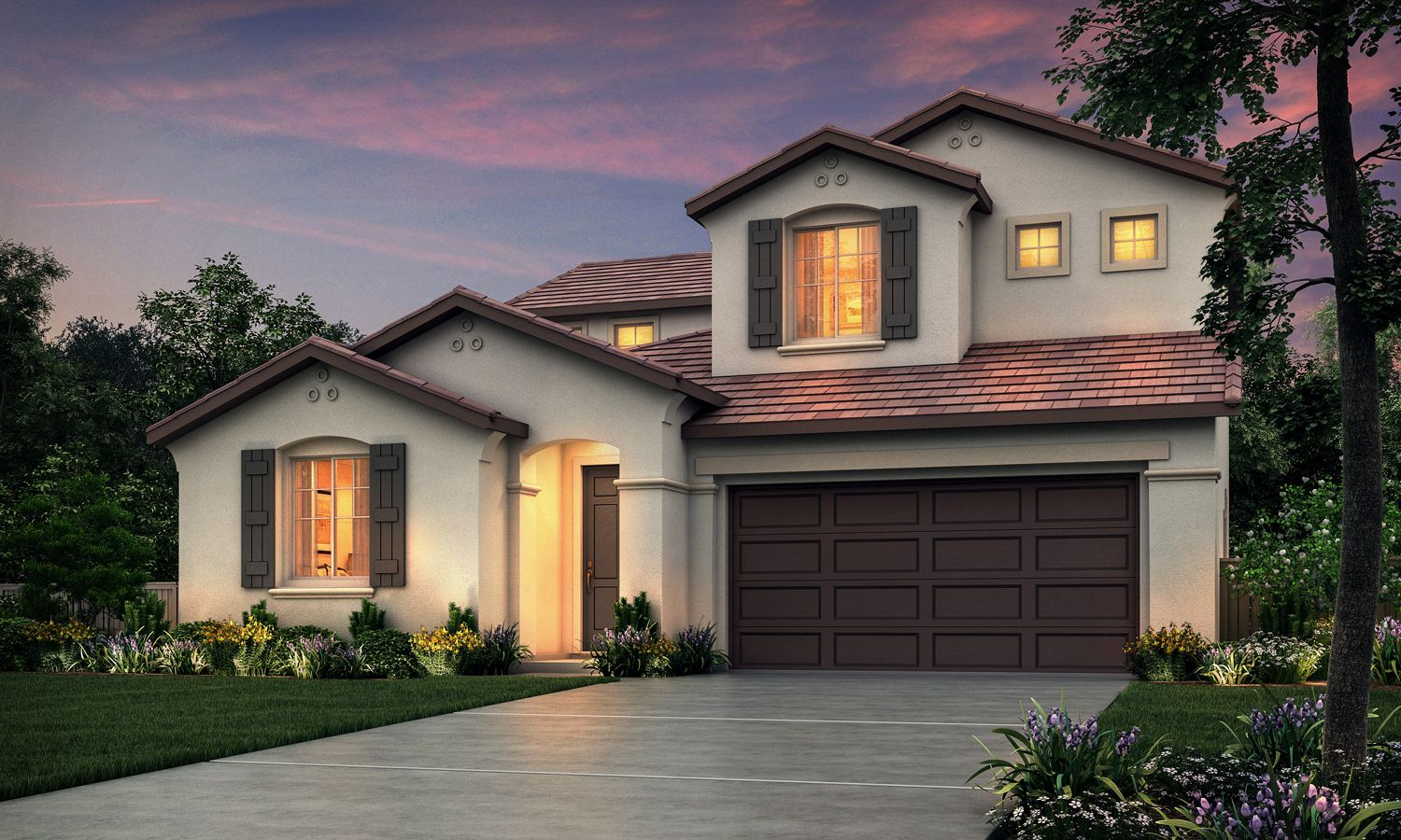 Exterior featured in The Travertino By Stonefield Home in Merced, CA