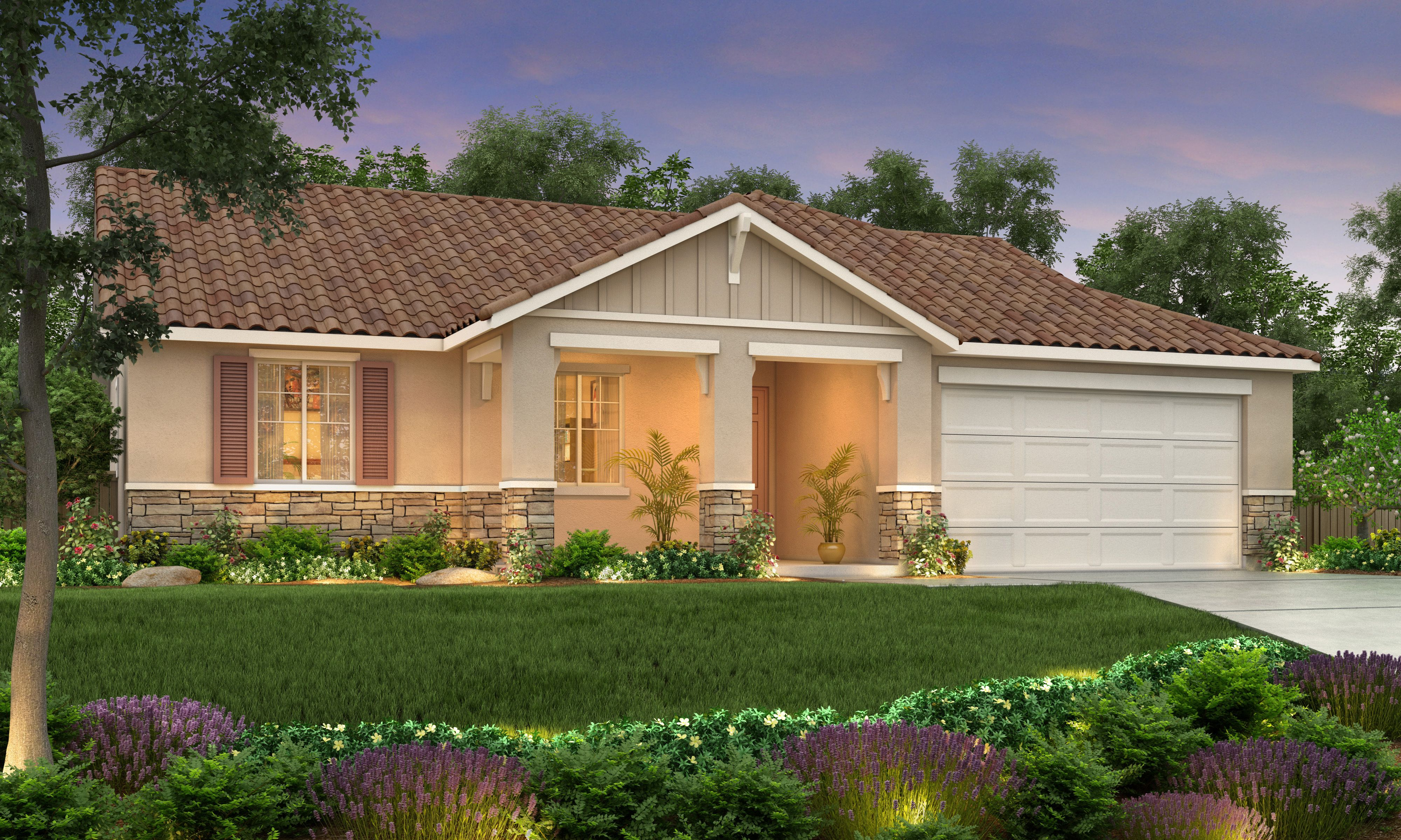 Exterior featured in The Sonoma By Stonefield Home in Merced, CA