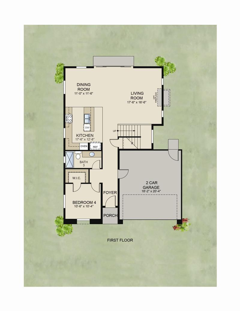 Floor Plan (1st Floor)