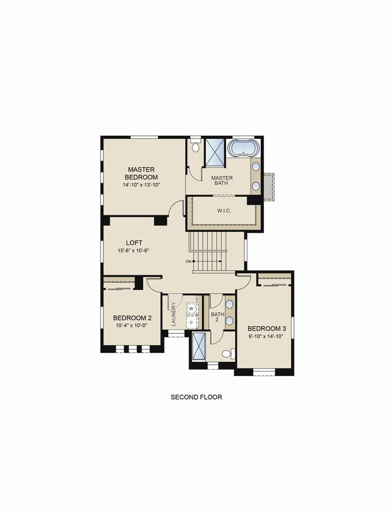 Floor Plan (2nd Floor)