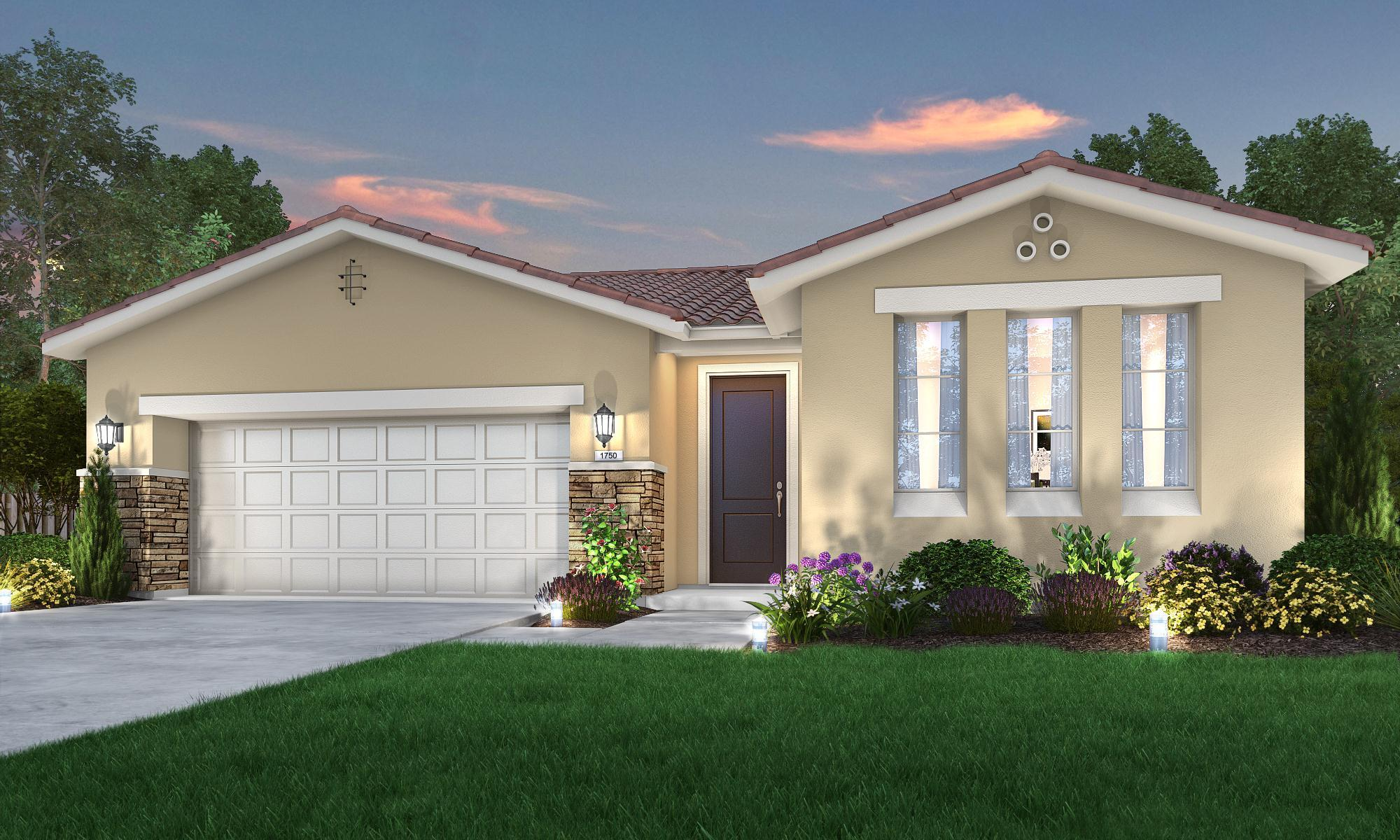 Exterior featured in The Ashington By Stonefield Home in Merced, CA