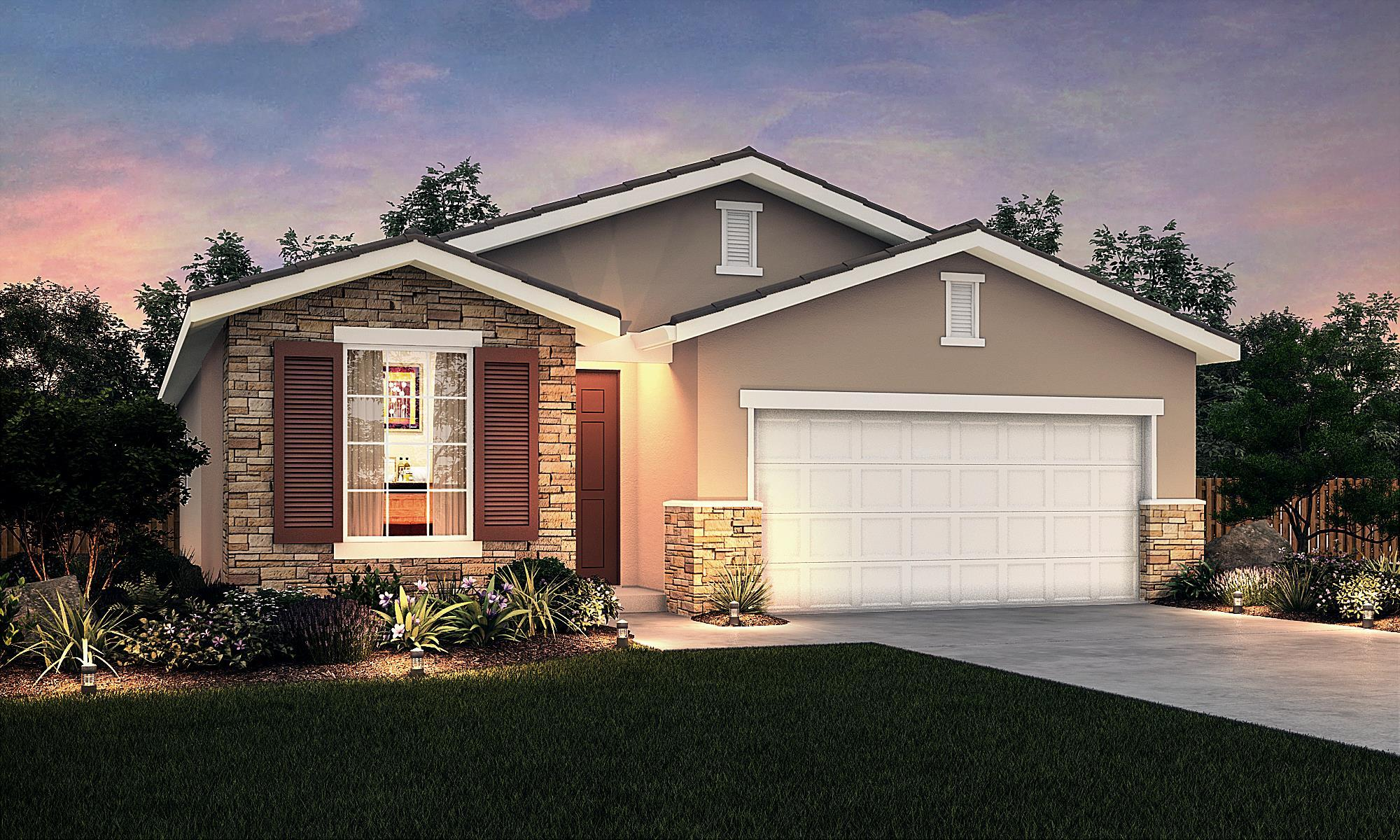 Exterior featured in The Cascade By Stonefield Home in Merced, CA