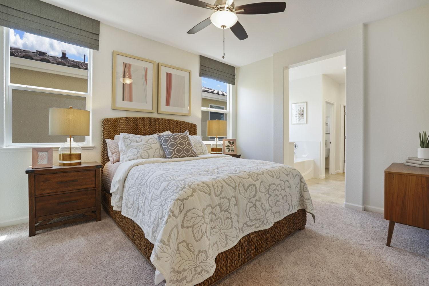 Bedroom featured in The Rainier By Stonefield Home in Merced, CA
