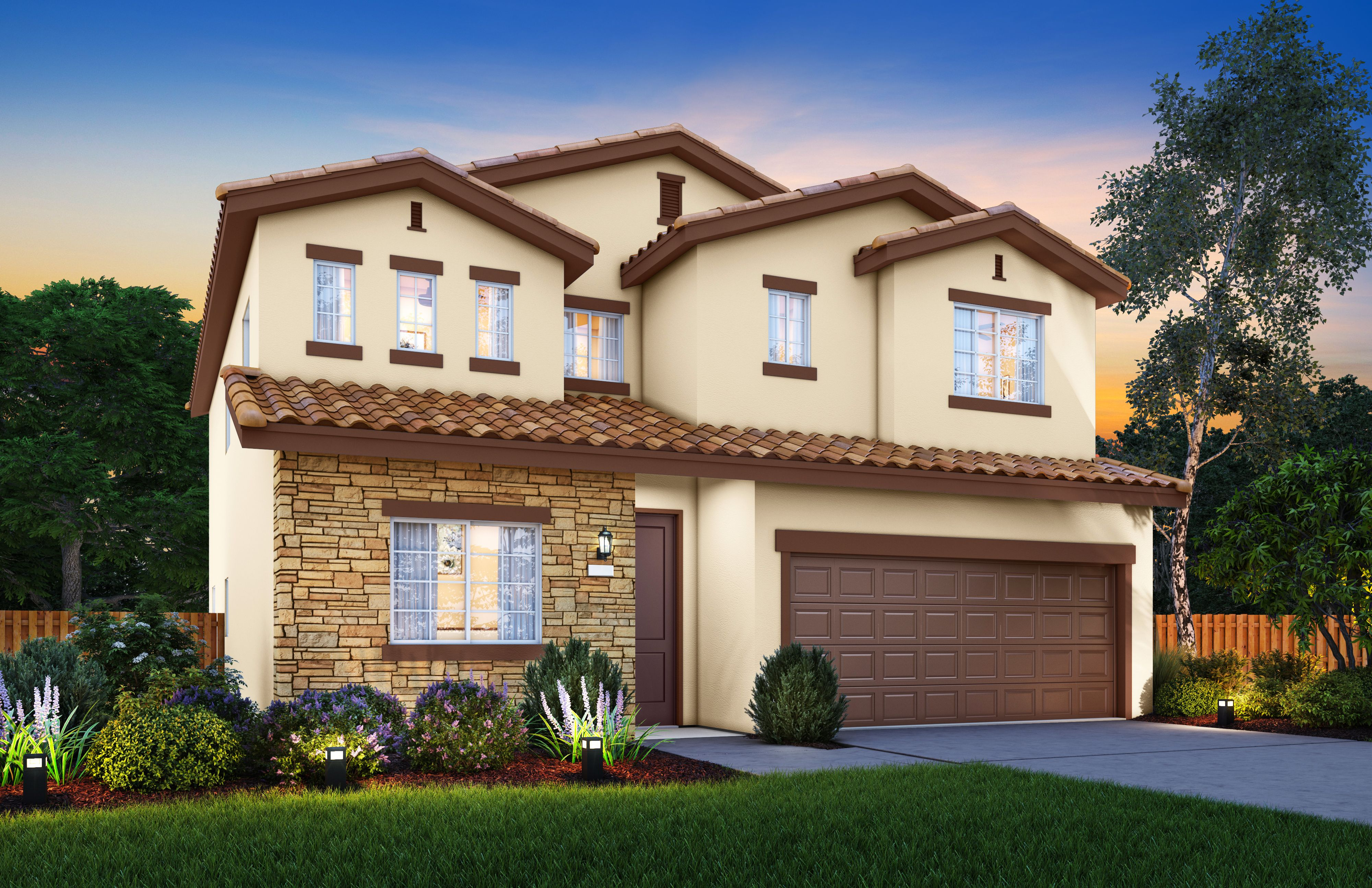 Exterior featured in The Stella By Stonefield Home in Merced, CA