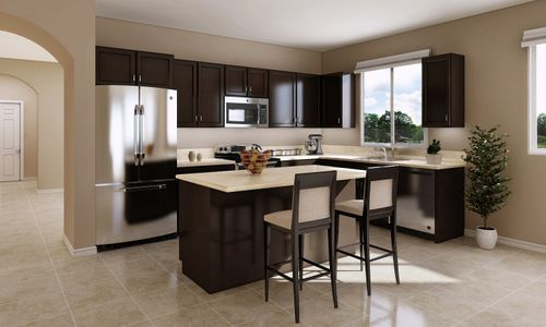 Kitchen-in-The Caledonia-at-Brookshire-in-Los Banos