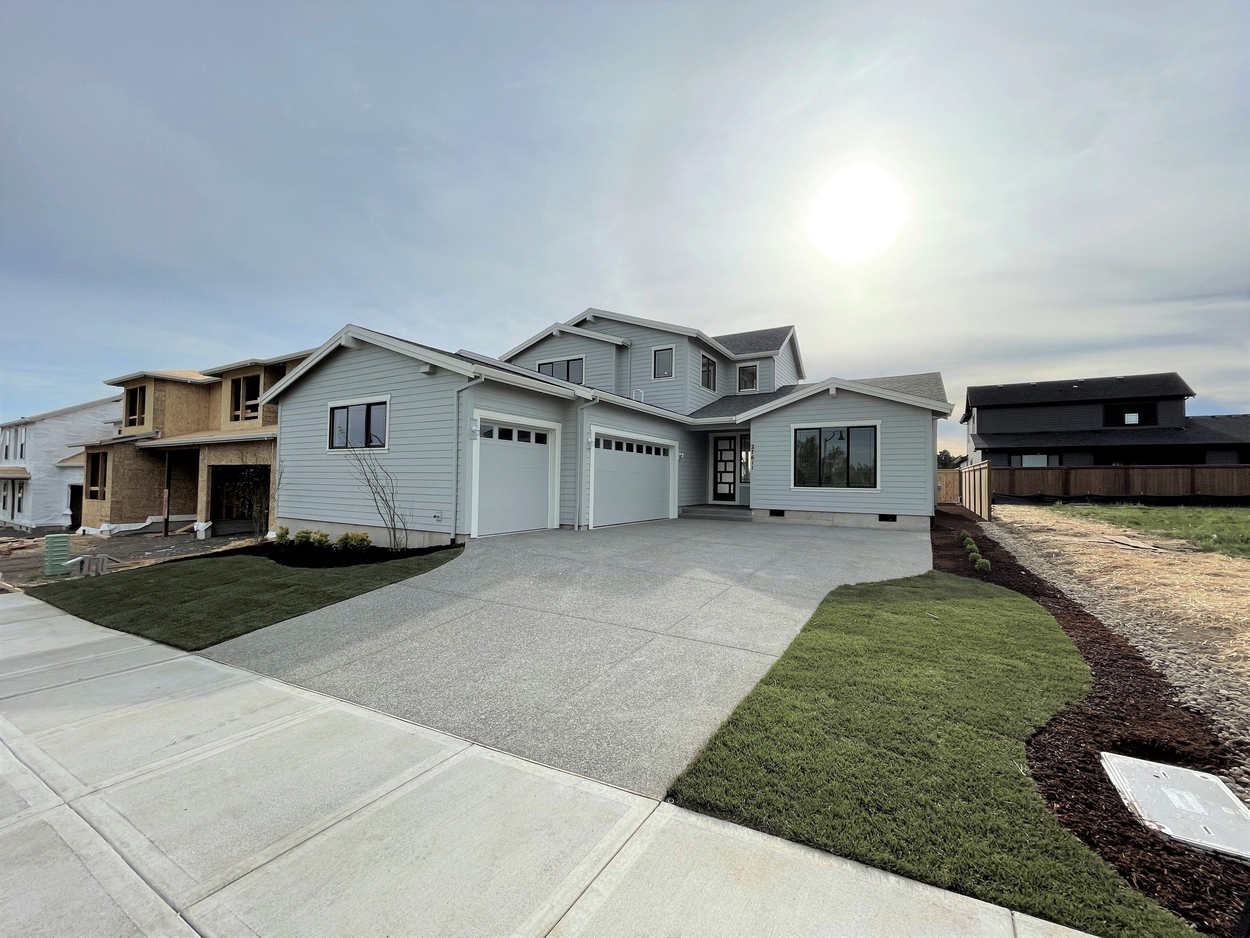 Exterior featured in the 27611 SW Marigold Terr By Stone Bridge Homes NW in Portland-Vancouver, OR