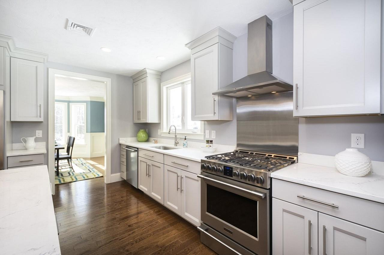Kitchen featured in The Belvidere By Stonebridge Homes Inc. in Boston, MA