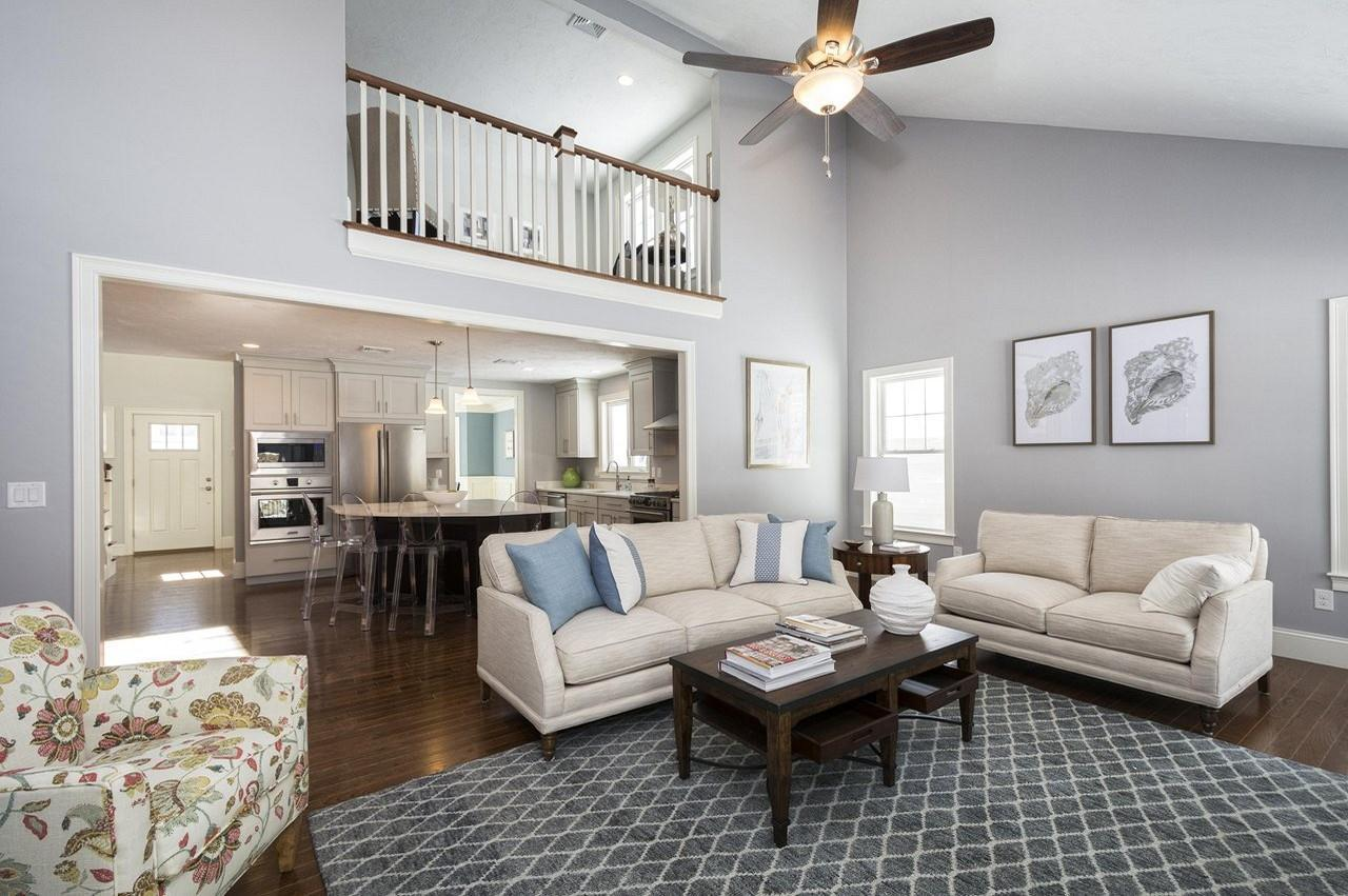 Living Area featured in The Belvidere By Stonebridge Homes Inc. in Boston, MA