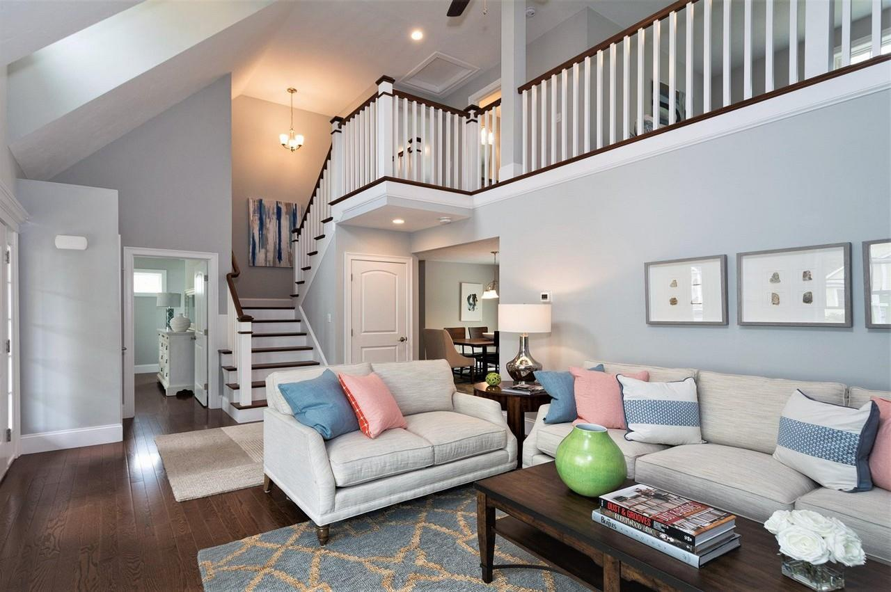 Living Area featured in The Clarendon By Stonebridge Homes Inc. in Boston, MA