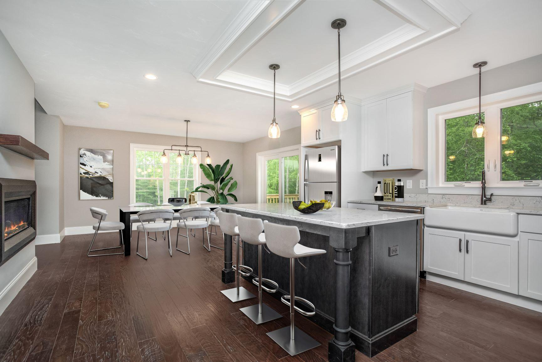 Kitchen featured in The Scotia By Stonebridge Homes Inc. in Boston, MA