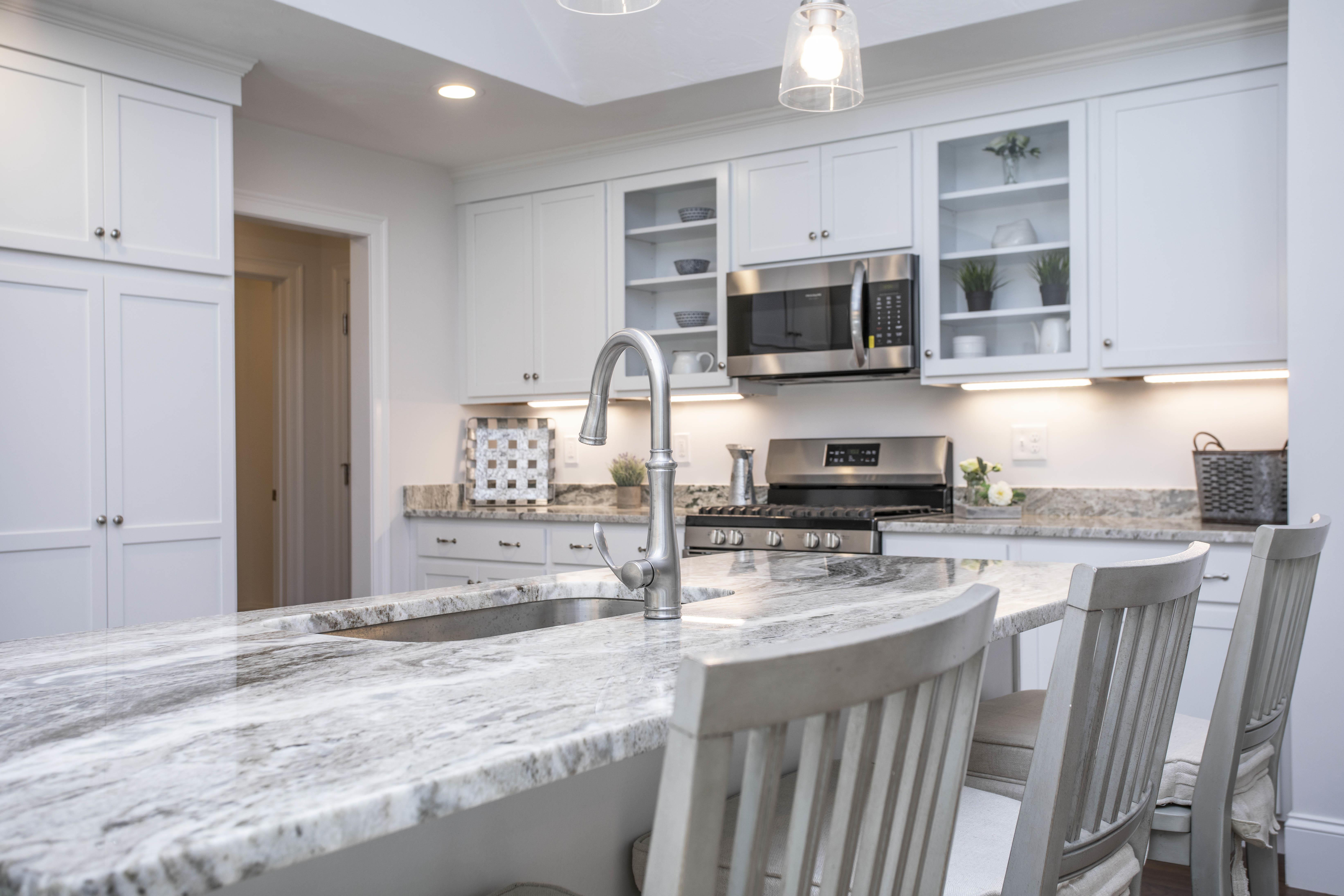 Kitchen featured in The Newport By Stonebridge Homes Inc. in Boston, MA