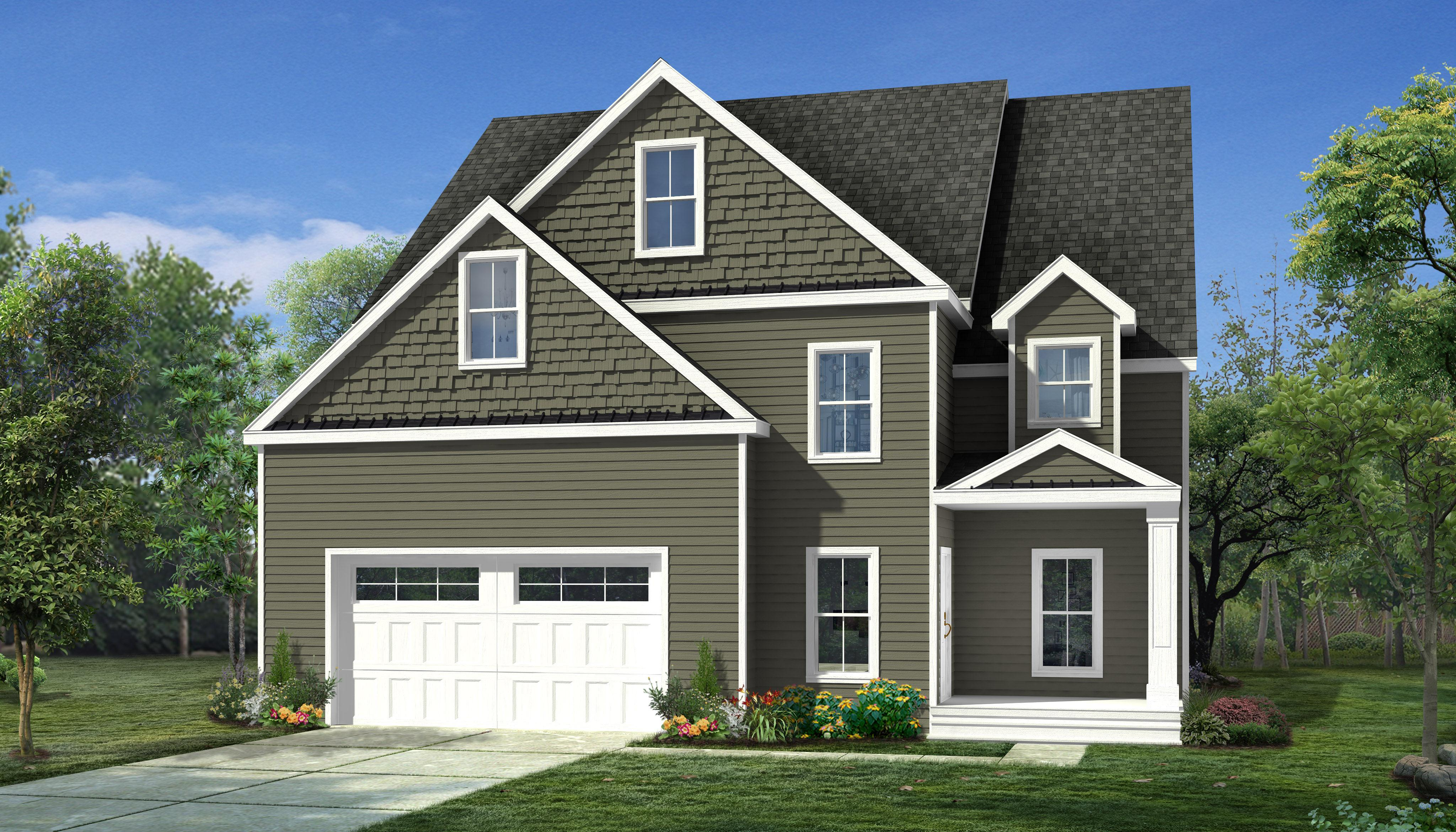 Exterior featured in The Winthrop By Stonebridge Homes Inc. in Boston, MA