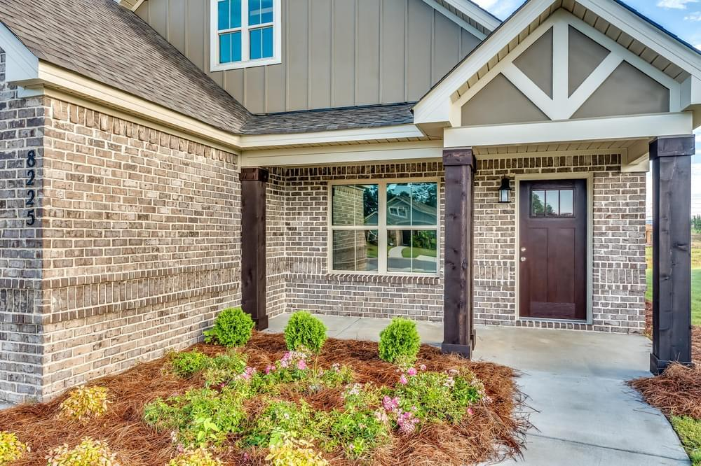 Exterior featured in the Bridgeport By Stone Martin Builders in Dothan, AL