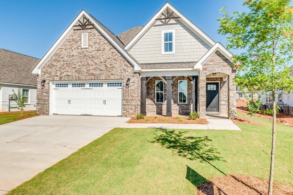 Exterior featured in the Newport By Stone Martin Builders in Montgomery, AL
