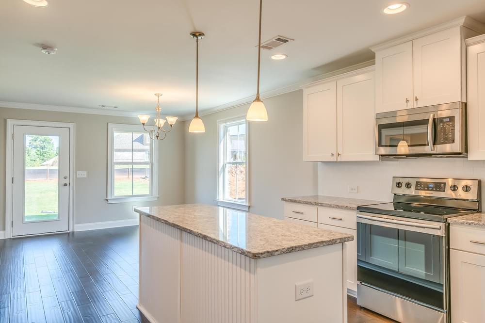 Kitchen featured in the Newport By Stone Martin Builders in Auburn-Opelika, AL