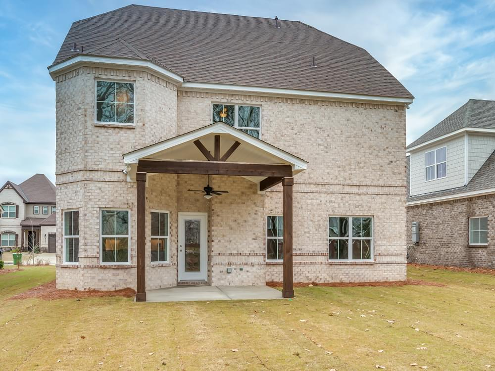 Exterior featured in the Norfolk By Stone Martin Builders in Montgomery, AL