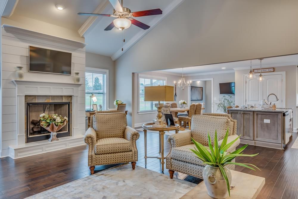 Living Area featured in the Overton By Stone Martin Builders in Montgomery, AL