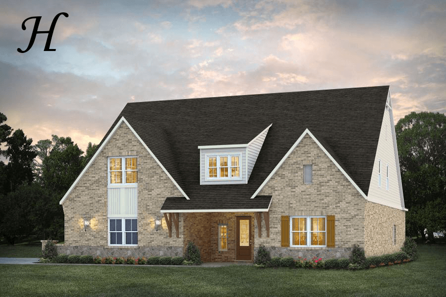 Exterior featured in the Brownsfield By Stone Martin Builders in Dothan, AL