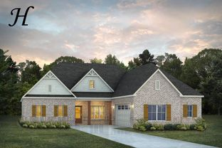 Chatsworth II - The Crossings: Madison, Alabama - Stone Martin Builders