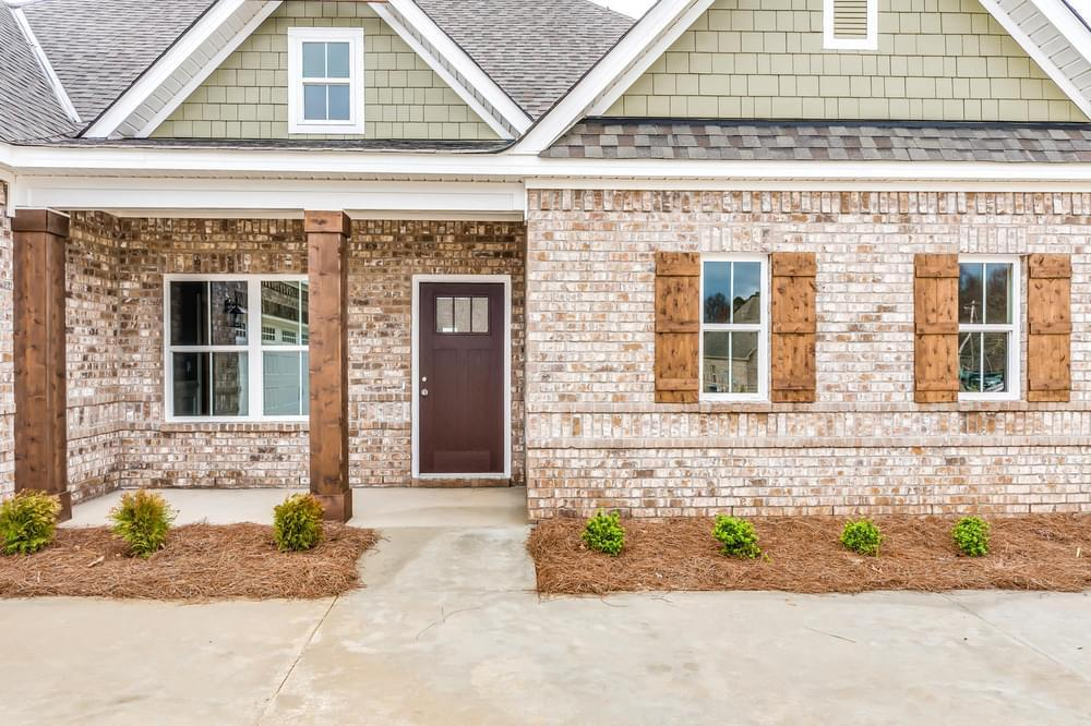Exterior featured in the Chatsworth II By Stone Martin Builders in Columbus, GA