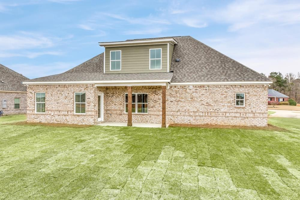 Exterior featured in the Chatsworth II By Stone Martin Builders in Dothan, AL
