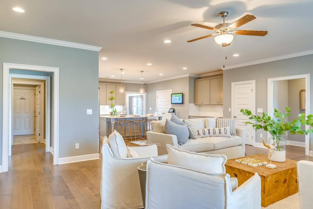 Living Area featured in the Dogwood By Stone Martin Builders in Montgomery, AL