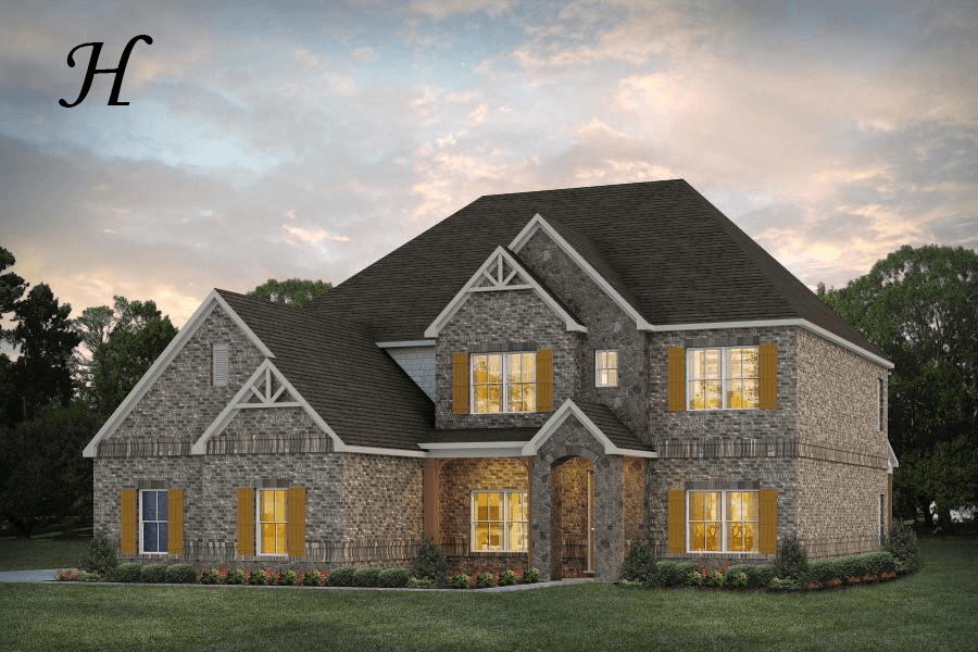 Exterior featured in the Ellington By Stone Martin Builders in Dothan, AL
