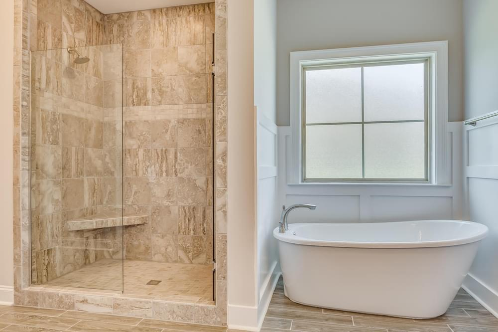 Bathroom featured in the Fairhope By Stone Martin Builders in Dothan, AL