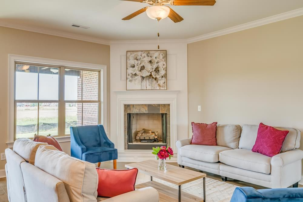 Living Area featured in the Hartwell II By Stone Martin Builders in Montgomery, AL