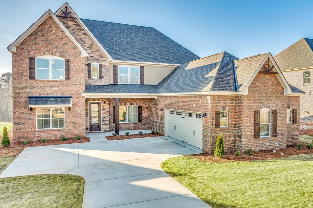 Exterior featured in the Highland By Stone Martin Builders in Dothan, AL