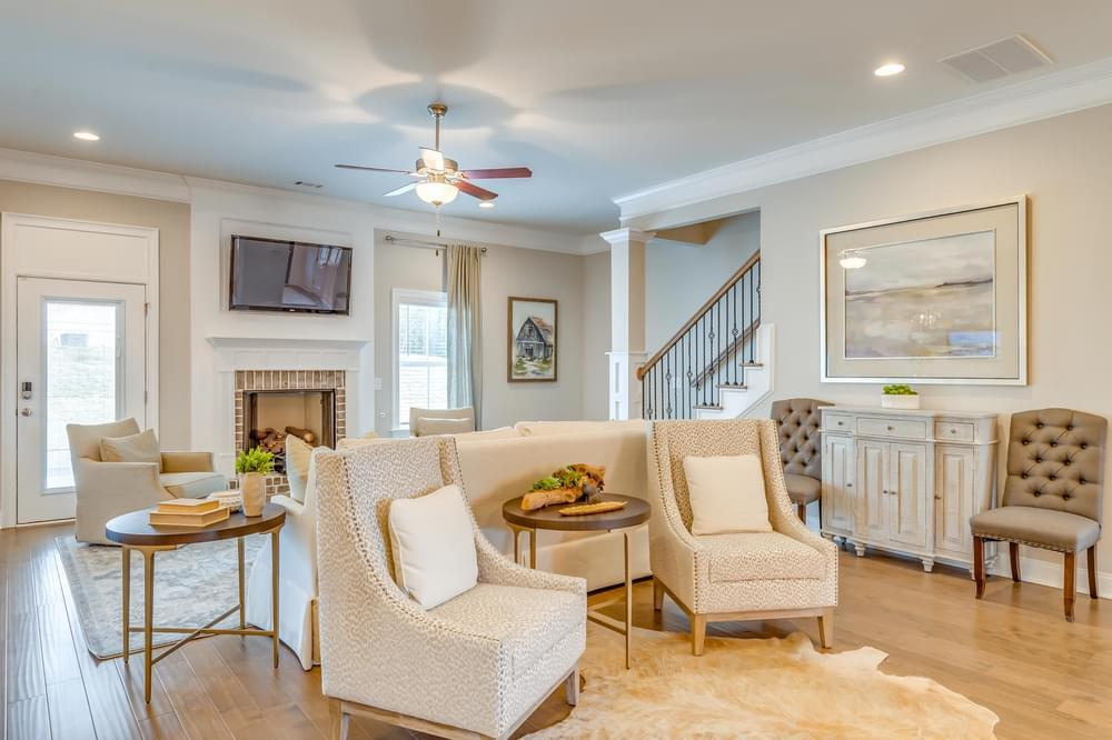 Living Area featured in the Kensington By Stone Martin Builders in Dothan, AL