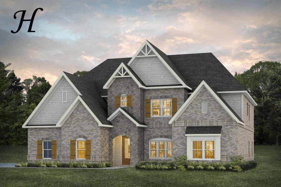 Exterior featured in the Manchester By Stone Martin Builders in Columbus, GA