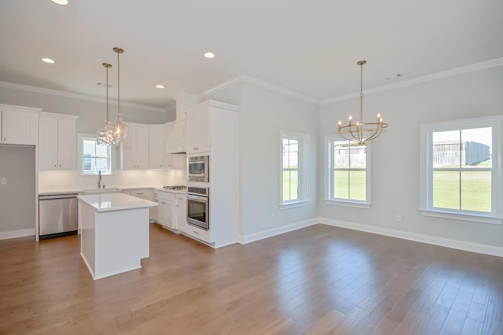 Kitchen featured in the Manchester By Stone Martin Builders in Auburn-Opelika, AL