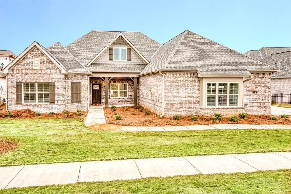 Exterior featured in the Melbourne By Stone Martin Builders in Dothan, AL