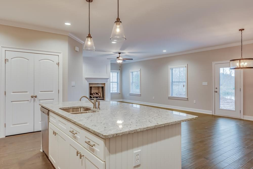 Kitchen featured in the Melbourne By Stone Martin Builders in Auburn-Opelika, AL