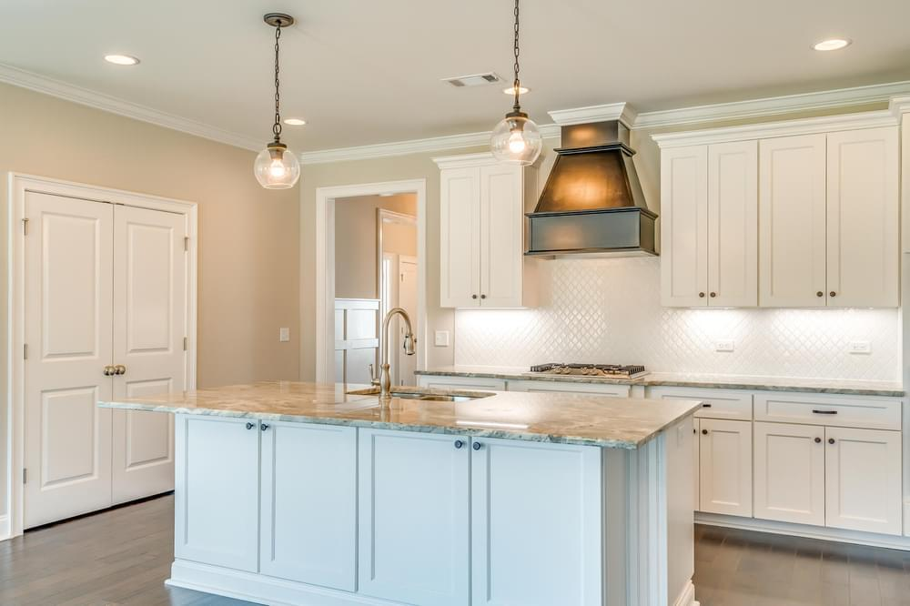 Kitchen featured in the Melbourne II By Stone Martin Builders in Dothan, AL