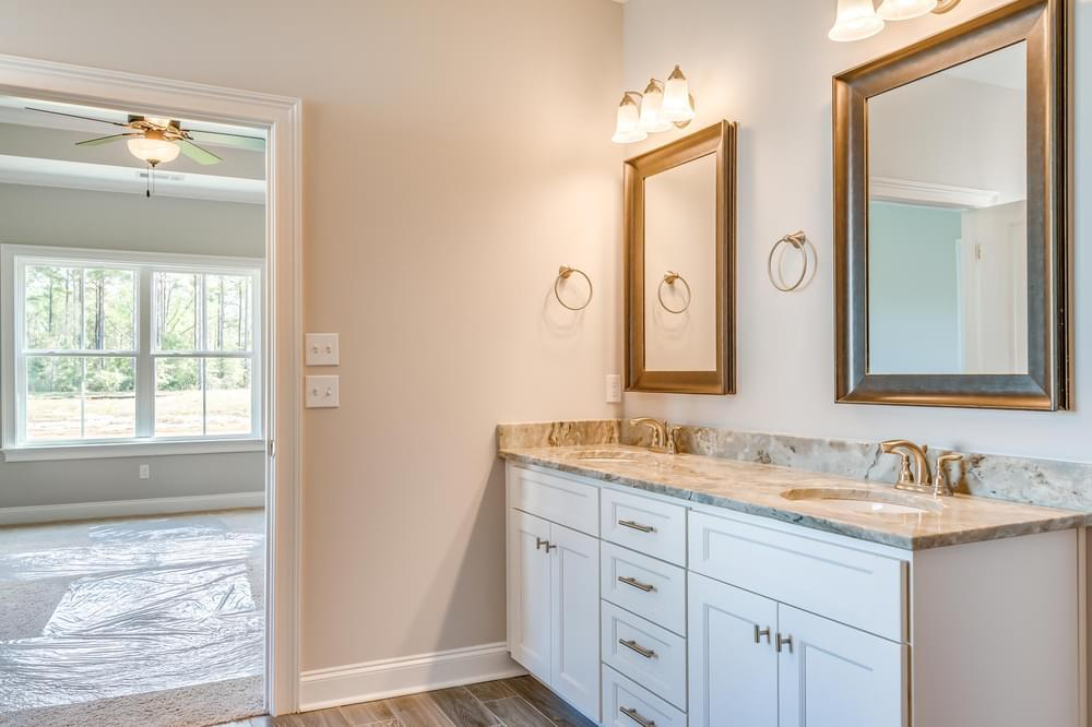Bathroom featured in the Melbourne II By Stone Martin Builders in Dothan, AL