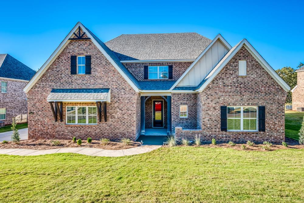 Exterior featured in the Stallworth By Stone Martin Builders in Dothan, AL