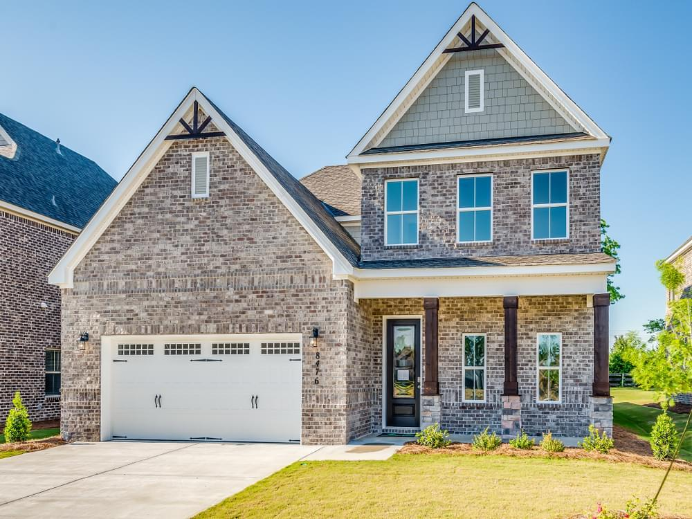 Exterior featured in the Sterling By Stone Martin Builders in Dothan, AL