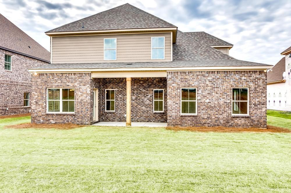 Exterior featured in the Sutherland By Stone Martin Builders in Huntsville, AL