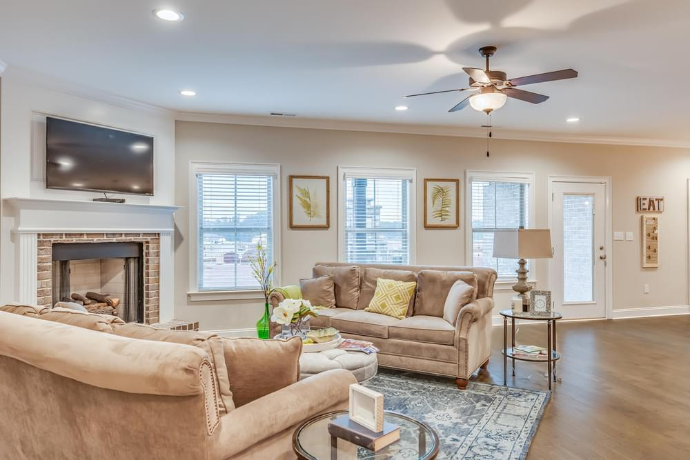 Living Area featured in the Wakefield II By Stone Martin Builders in Montgomery, AL