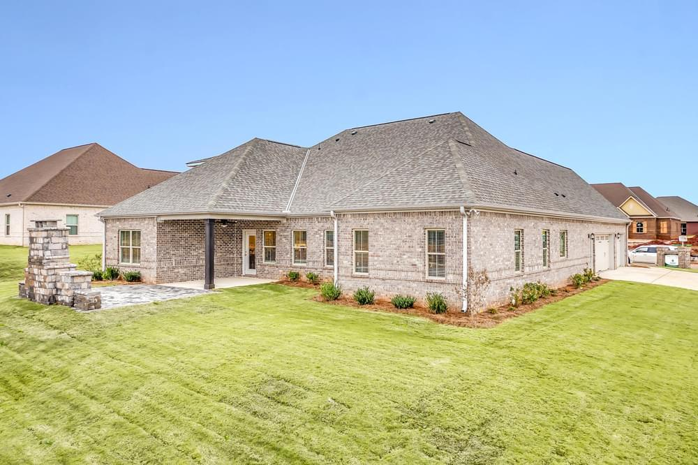 Exterior featured in the Wakefield II By Stone Martin Builders in Montgomery, AL
