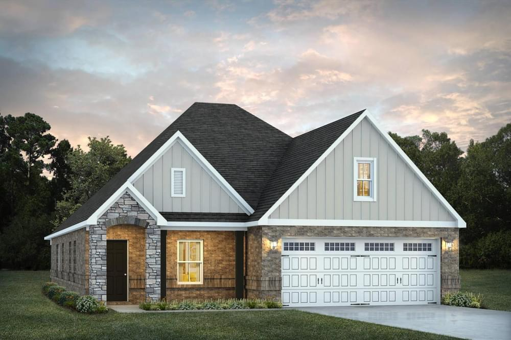 Exterior featured in the Lenox By Stone Martin Builders in Columbus, GA