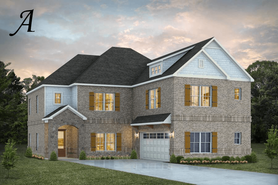 Exterior featured in the Deerfield By Stone Martin Builders in Huntsville, AL