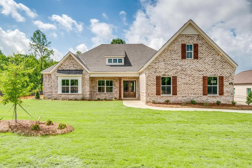 Exterior featured in the Morningside II By Stone Martin Builders in Montgomery, AL